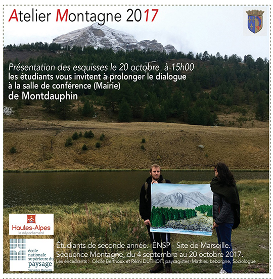 Invitation atelier montagne 2017