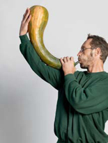 l&#233;gumes hommes homme courge instrument
